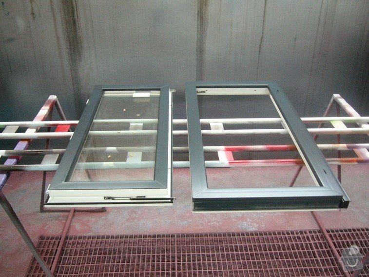Lakování plastového okna: P1030776