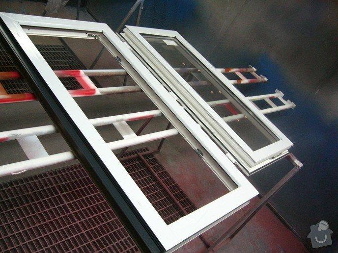 Lakování plastového okna: P1030788