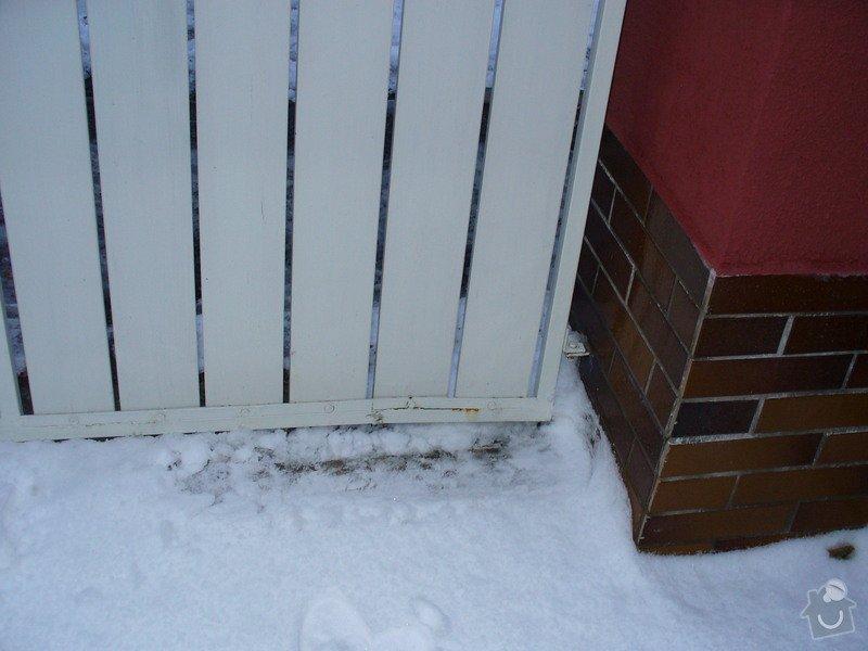 Oprava vjezdové brány: brana1