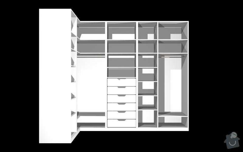 Výroba vestavěné skříně: S_3