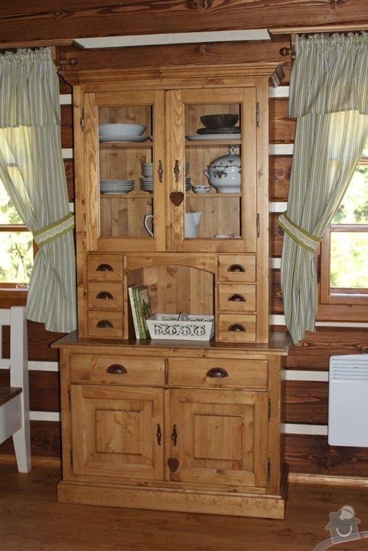 Vybavení roubenky nábytkem, kuchyňská linka a návrh a realizace obkladů roubenky: IMG_3273
