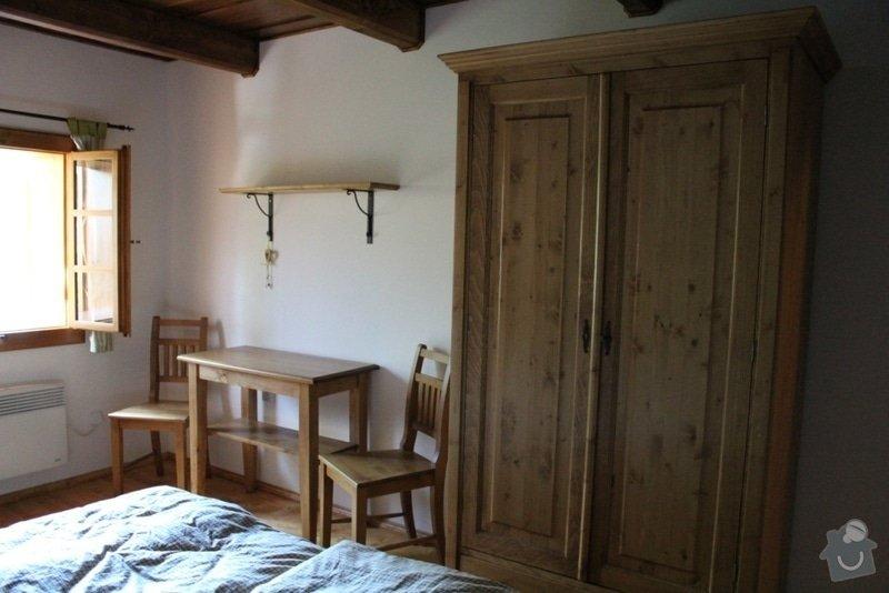 Vybavení roubenky nábytkem, kuchyňská linka a návrh a realizace obkladů roubenky: IMG_3359
