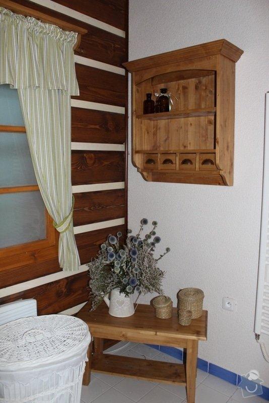 Vybavení roubenky nábytkem, kuchyňská linka a návrh a realizace obkladů roubenky: IMG_3505