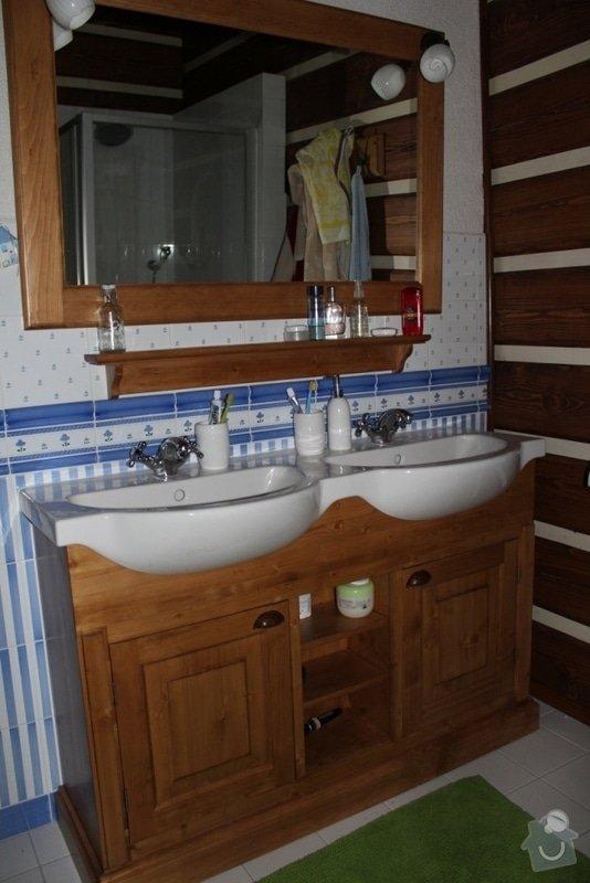 Vybavení roubenky nábytkem, kuchyňská linka a návrh a realizace obkladů roubenky: IMG_3513