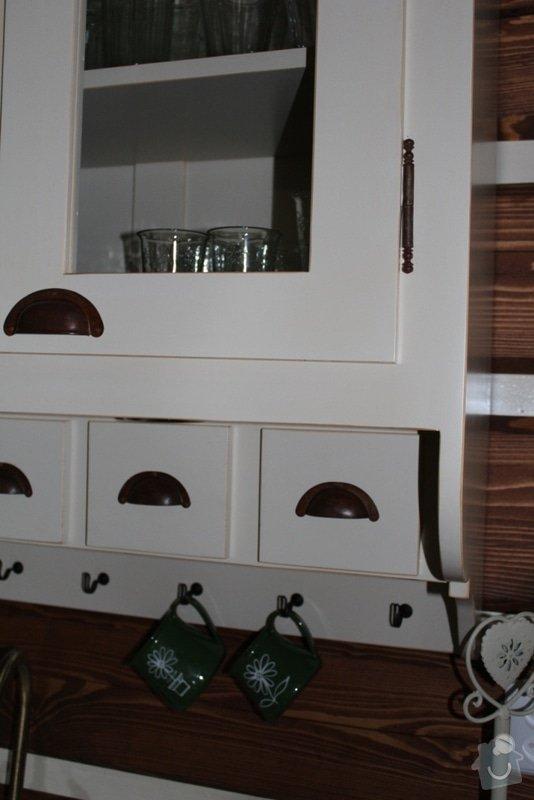Vybavení roubenky nábytkem, kuchyňská linka a návrh a realizace obkladů roubenky: IMG_3263