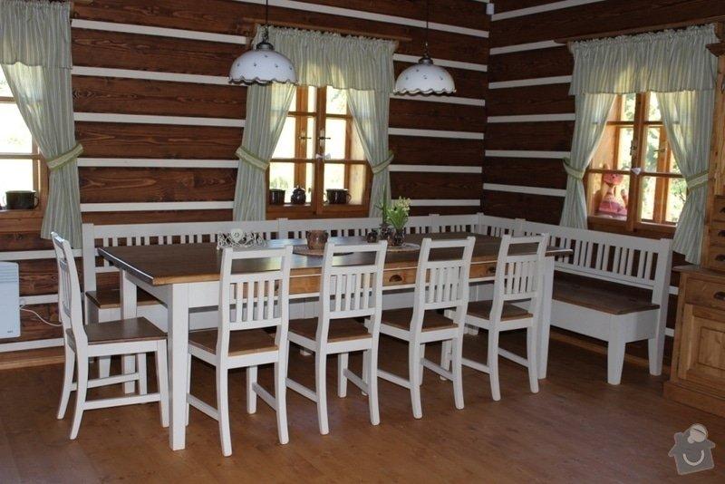 Vybavení roubenky nábytkem, kuchyňská linka a návrh a realizace obkladů roubenky: IMG_3274