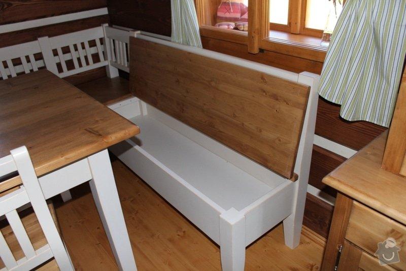 Vybavení roubenky nábytkem, kuchyňská linka a návrh a realizace obkladů roubenky: IMG_3278