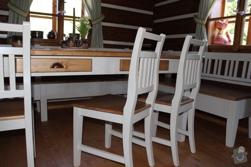 Vybavení roubenky nábytkem, kuchyňská linka a návrh a realizace obkladů roubenky: IMG_3279