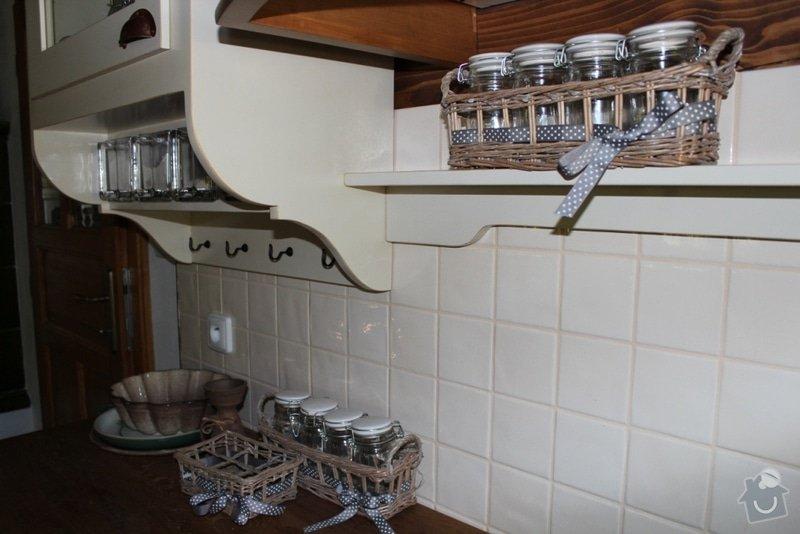 Vybavení roubenky nábytkem, kuchyňská linka a návrh a realizace obkladů roubenky: IMG_3287