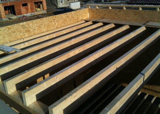 Stavba dřevostaby - dvougenerační pasivní dům