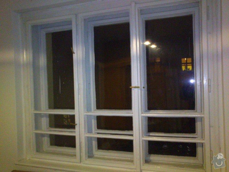 Renovace špaletových oken a parapetů + dveří: DSC_0011