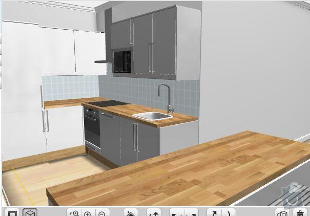 Elektrina v kuchyni, novostavba + nove osvetlenie nad pracovný pult: kuchyna_teraz
