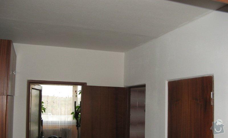 Výměna zásuvky a zprovoznění napájení koupelnového jádra: chodba_u_koupelny