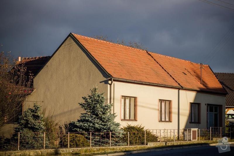 Rekonstrukce střechy RD: bukovinka
