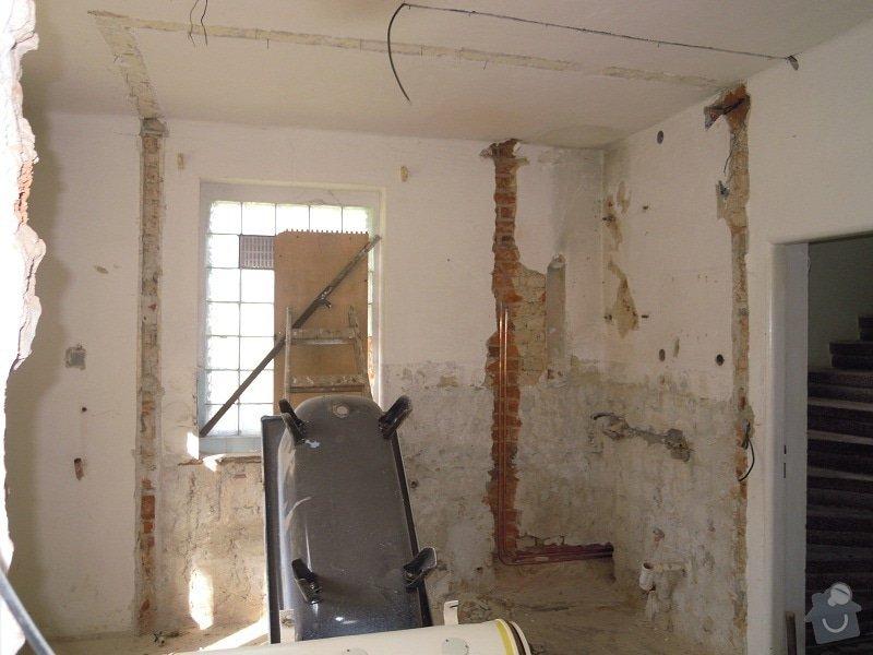 Kompletní rekonstrukce rodinného domku: DSCN7873