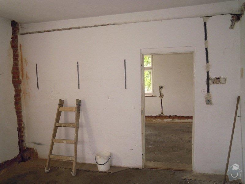 Kompletní rekonstrukce rodinného domku: DSCN7877