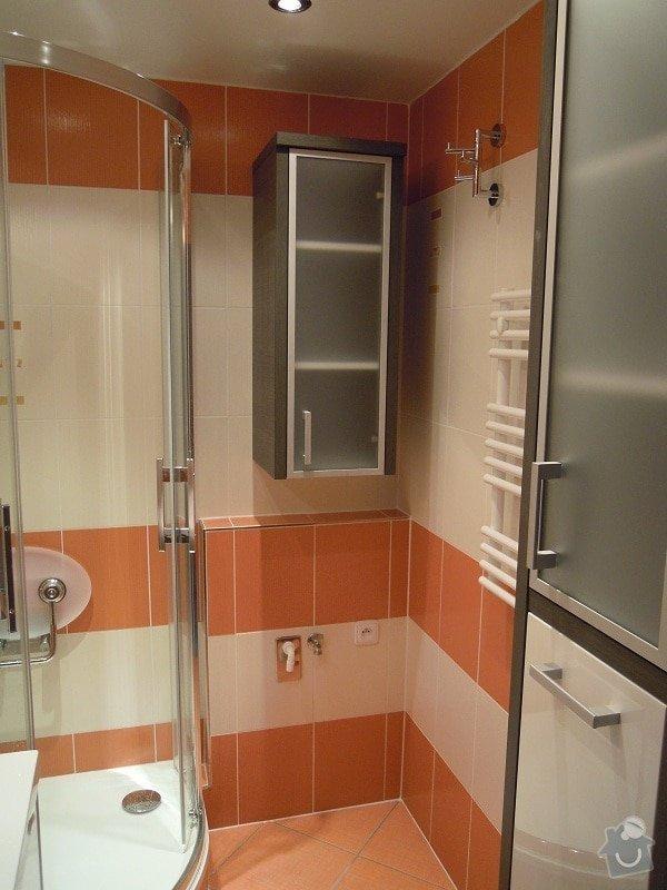 Kompletní rekonstrukce koupelny,toalety a chodby: 173-02
