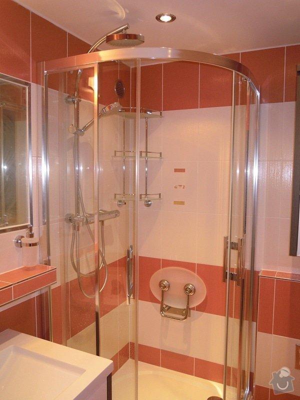 Kompletní rekonstrukce koupelny,toalety a chodby: 173-03