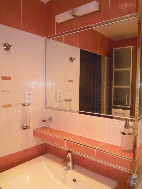 Kompletní rekonstrukce koupelny,toalety a chodby: 173-08