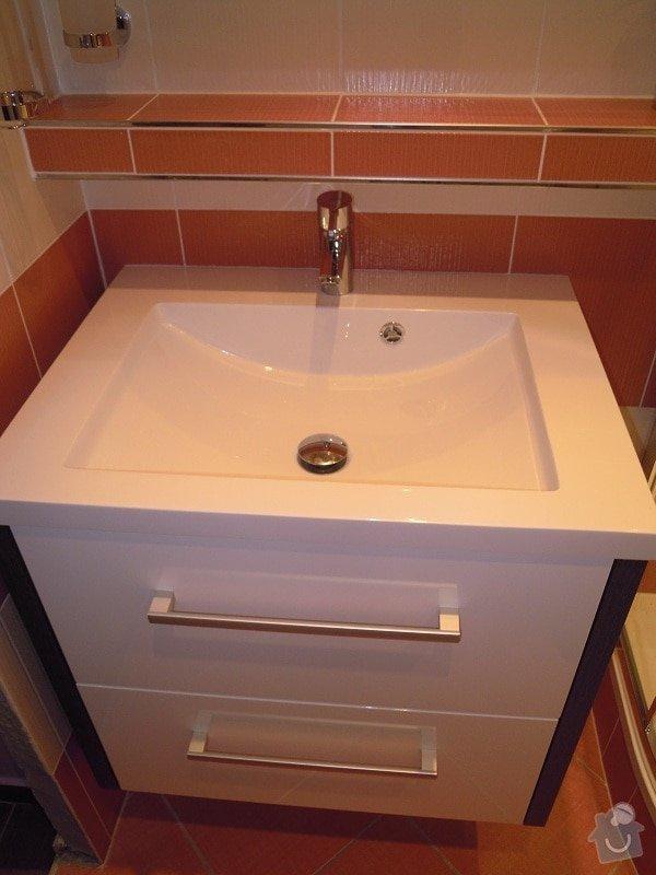 Kompletní rekonstrukce koupelny,toalety a chodby: 173-09