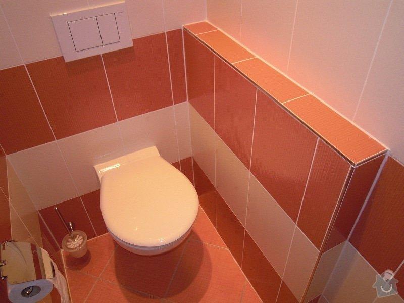 Kompletní rekonstrukce koupelny,toalety a chodby: 173-15