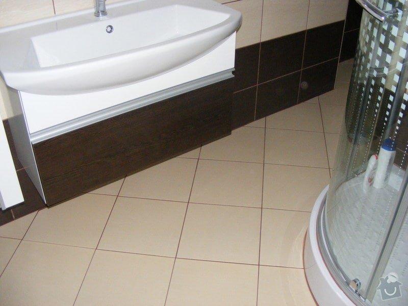 Celková rekonstrukce koupelny: DSCF2200