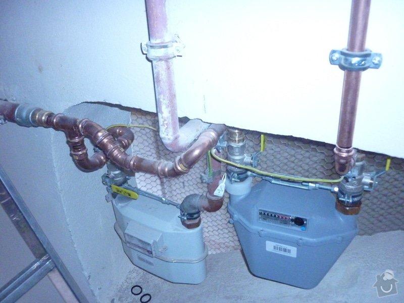 Plynové topení do bytu.: P1020296