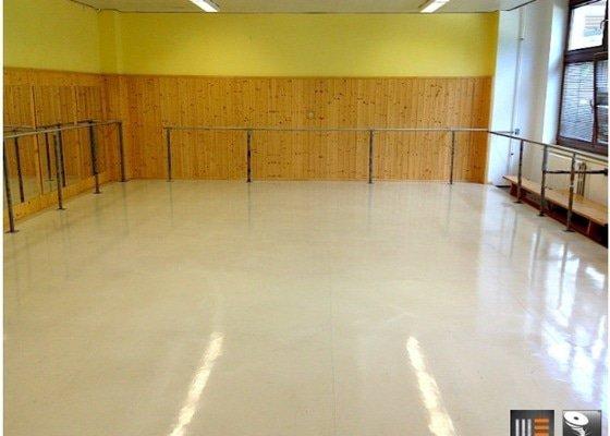 Renovace sportovní podlahy | Baletní škola Cinderella