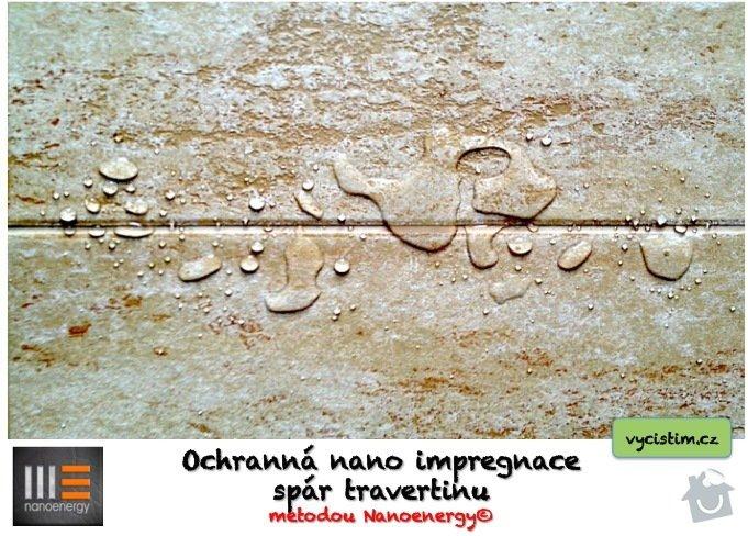 Renovace a čištění travertinové dlažby, nano impregnace travertinu.: FOTO_1.jpg
