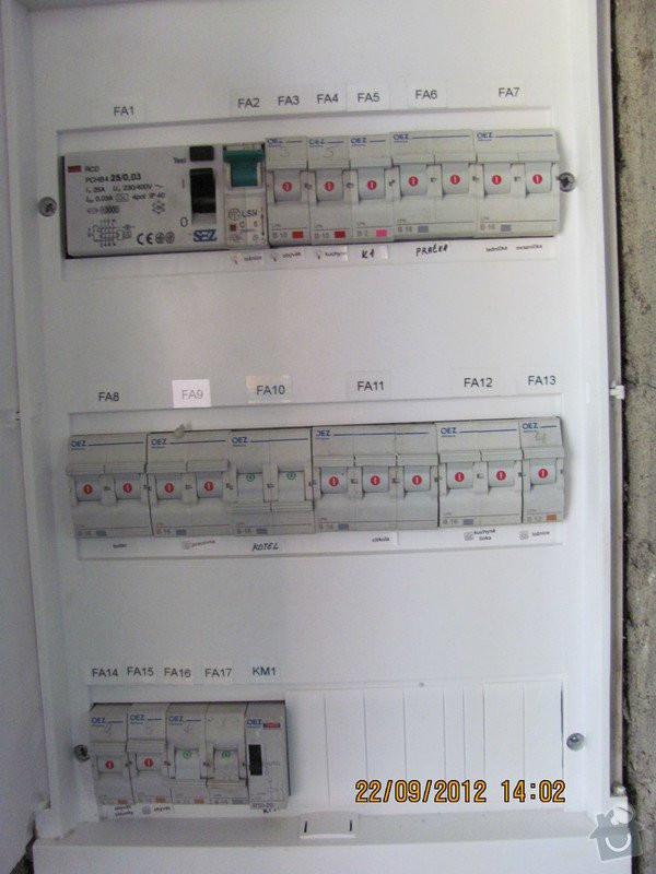 Oprava  vadné elektroinstalace a doplnění.: Rozvodnice_PL36_Pavel_2_