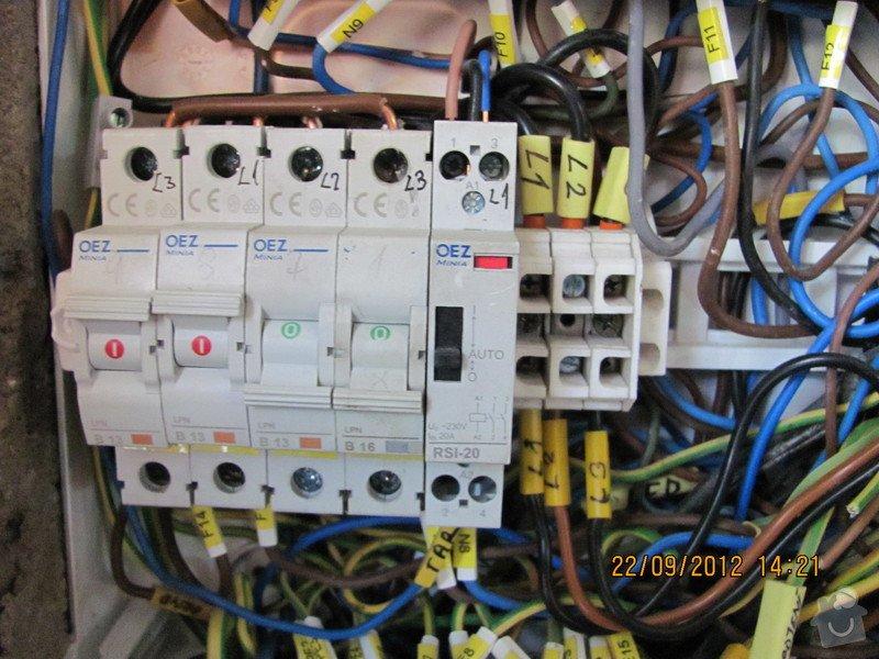 Oprava  vadné elektroinstalace a doplnění.: Rozvodnice_PL36_Pavel_8_
