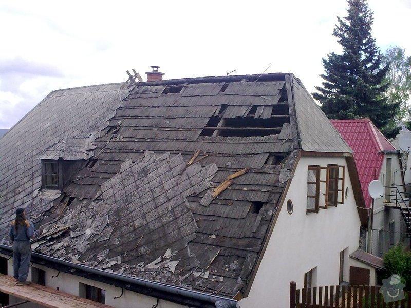 Rekonstrukce střechy: 070520121094