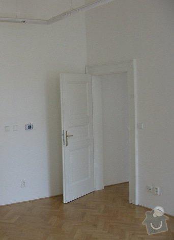 Troje interiérové dveře - včetně zárubní a montáže: dvere