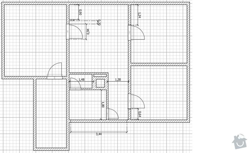 Rekonstrukci koupelnového jádra: stav_po_rekonstrukci