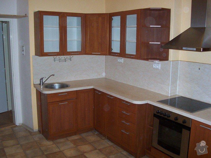 Výměna pracovní desky kuchyňské linky: 100_5226