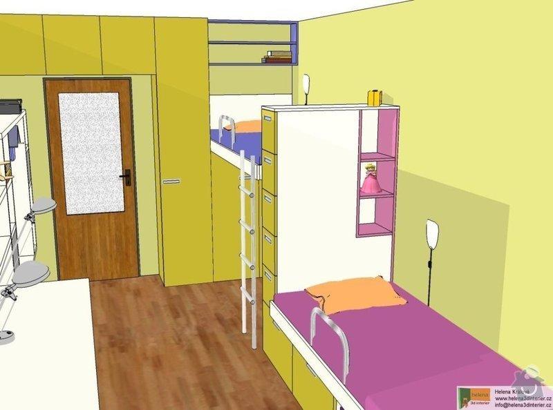 Návrh dětského pokoje: t_t_pokoj1