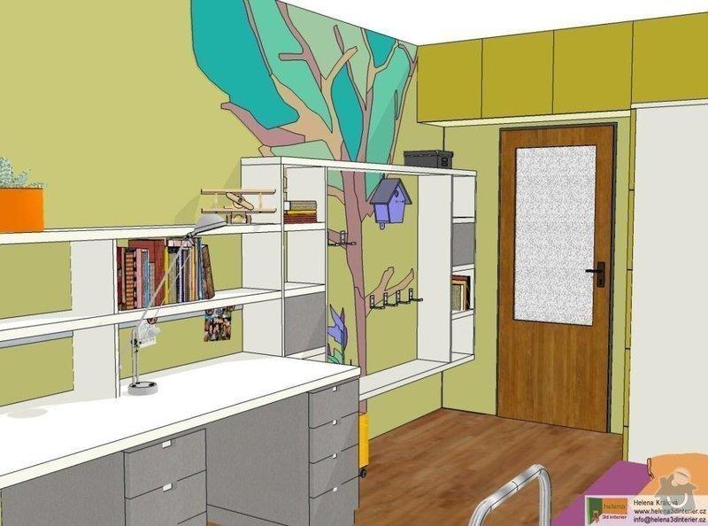 Návrh dětského pokoje: t_t_pokoj2