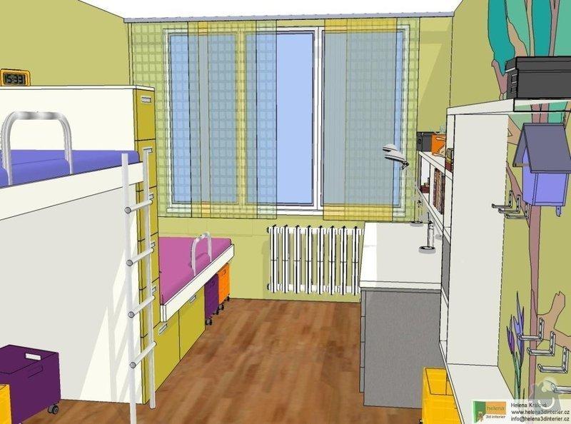 Návrh dětského pokoje: t_t_pokoj4