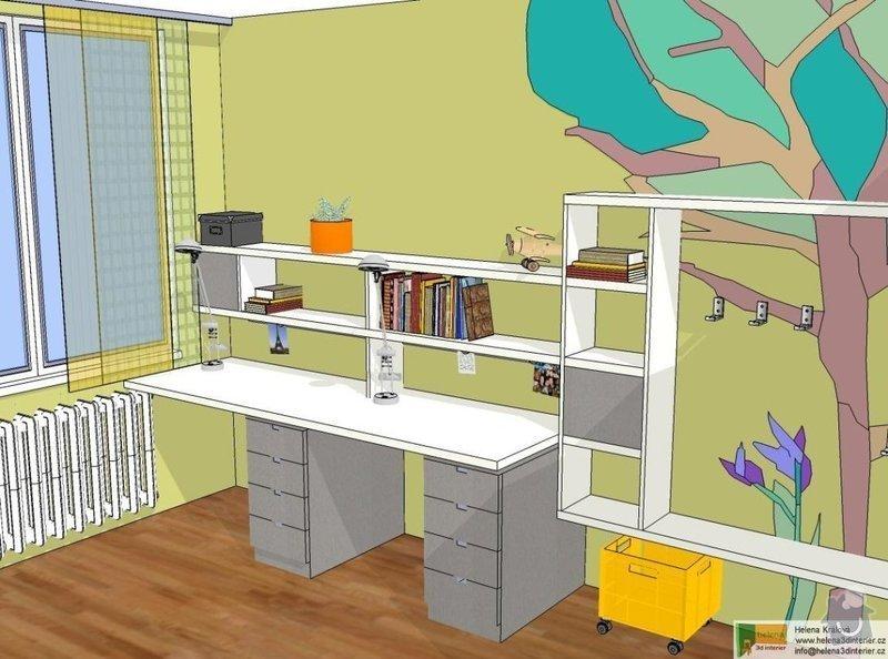 Návrh dětského pokoje: t_t_pokoj6