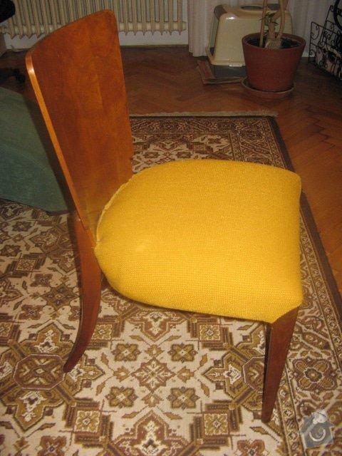 Přečalounění šesti židlí Brno-střed: IMG_0100
