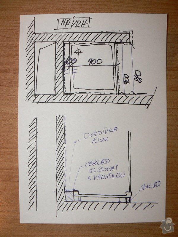 Rekonstrukce sprchového koutu: nacrt_navrh