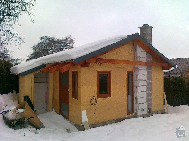 Zateplovací fasáda dřevostavby: 2012_003