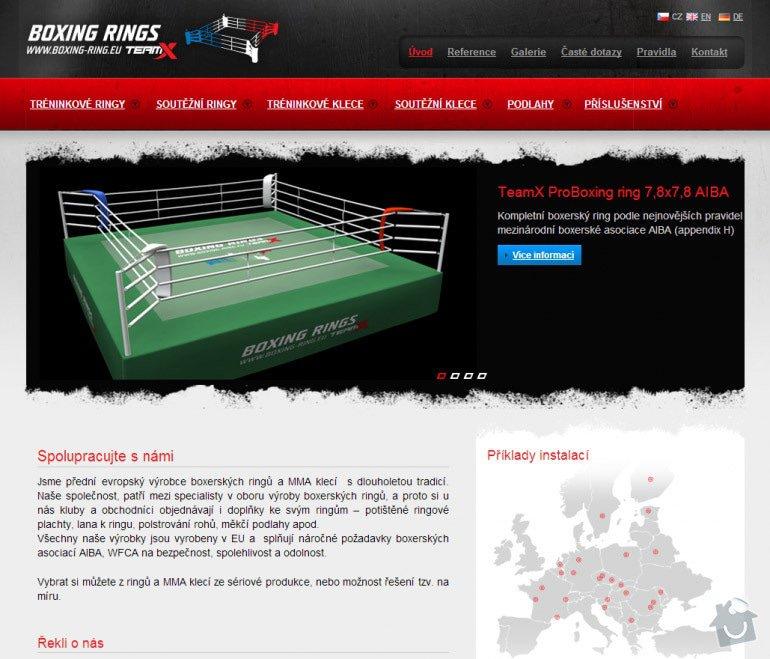 Tvorba www stránek pro prodej boxerských ringů a MMA klecí: 062-boxerske-ringy-mma-klece-a-vybaveni-na-miru-boxing-rings