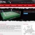 Tvorba www stranek pro prodej boxerskych ringu a mma kleci 062 boxerske ringy mma klece a vybaveni na miru boxing rings