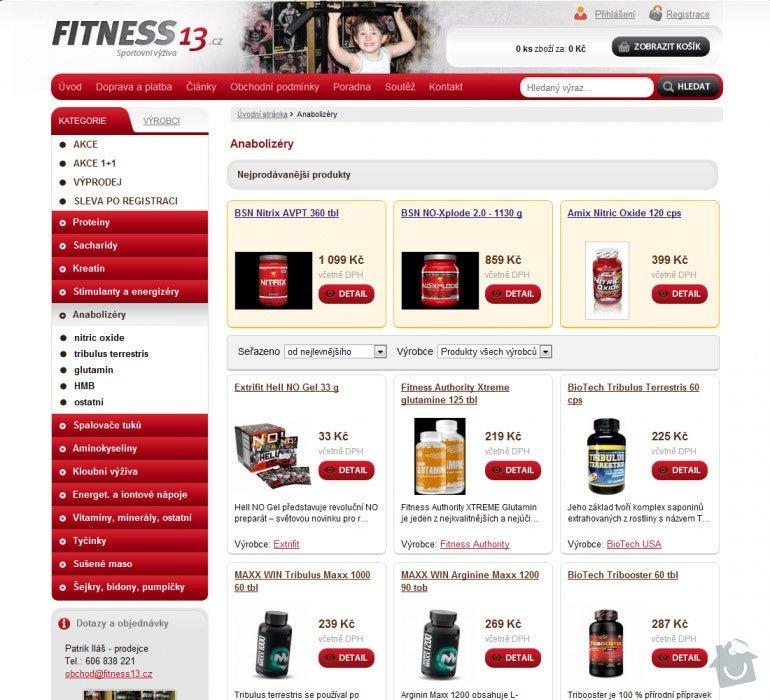 Tvorba eshopu se sportovní výživou Fitness13: 058-fitness13-2