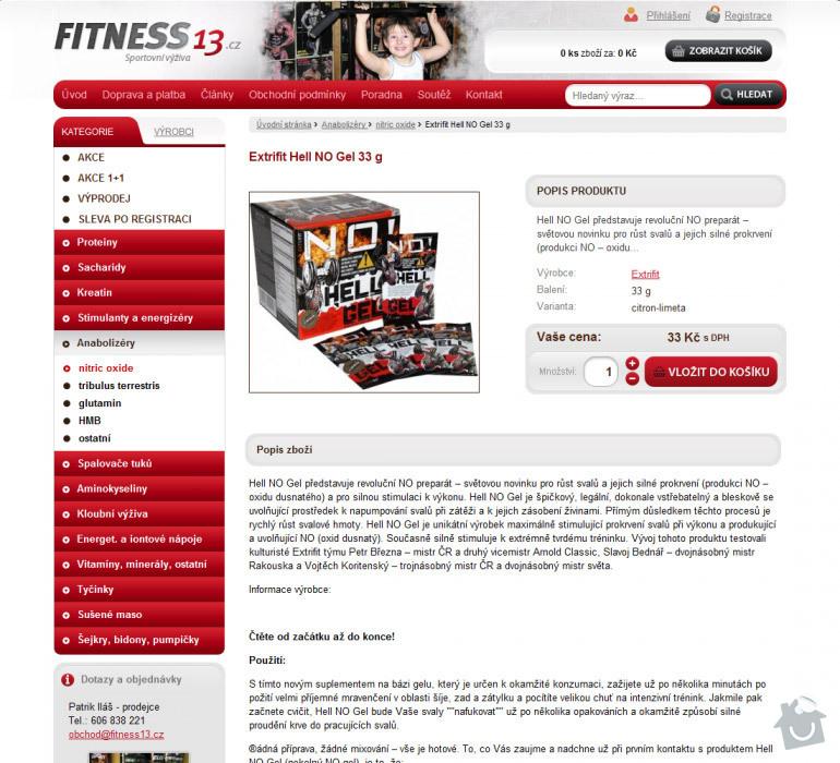 Tvorba eshopu se sportovní výživou Fitness13: 058-fitness13-3