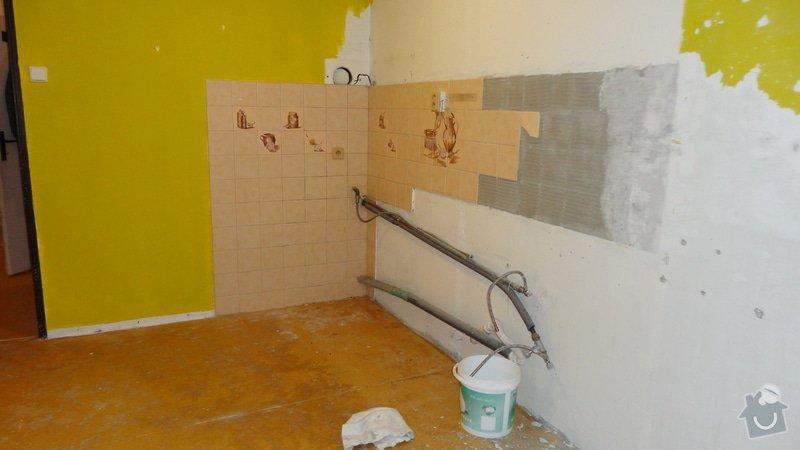 Rekonstrukce panelového bytu 3+1: Kuchyn-