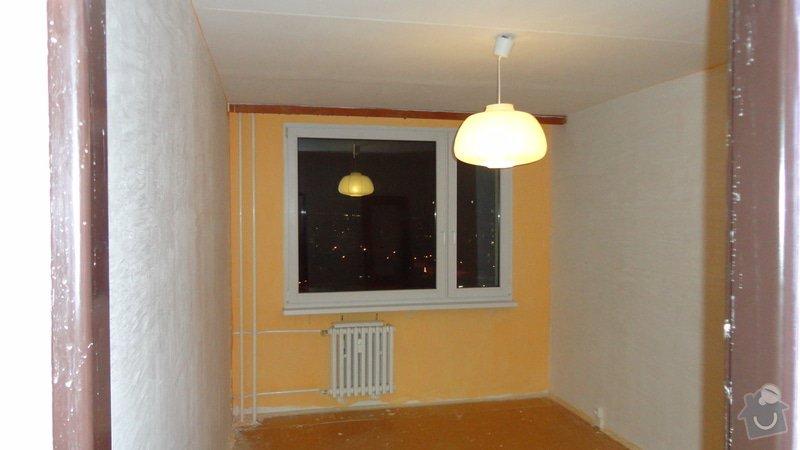 Rekonstrukce panelového bytu 3+1: Pokoj-2