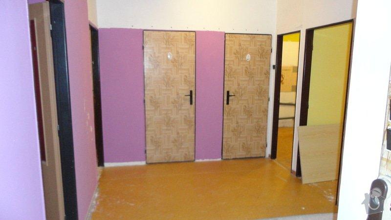Rekonstrukce panelového bytu 3+1: Predsin