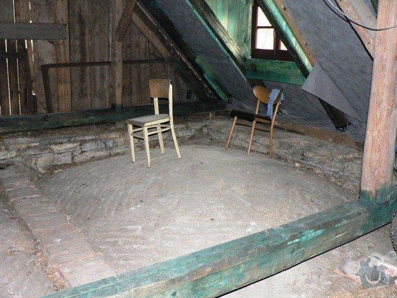 Zhotovení podlahy v podkroví: L_strana
